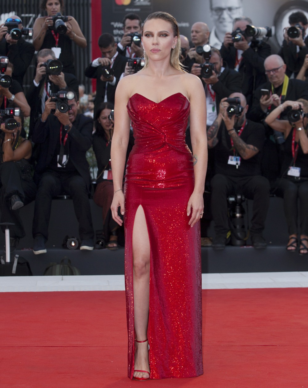 76th Venice Film Festival, Italy - 'Marriage Story' Premiere - Red Carpet