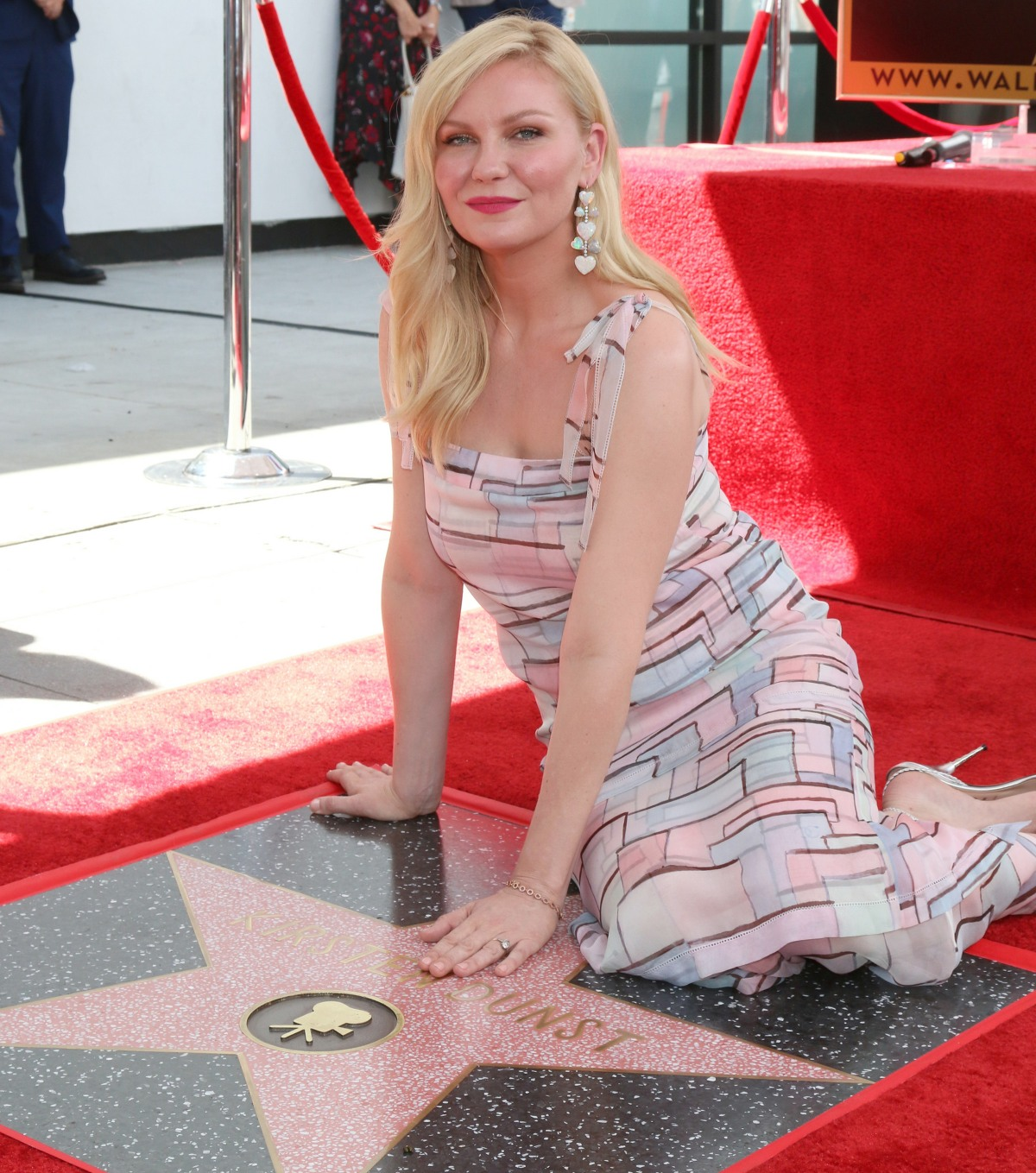 Kirsten Dunst Hollywood Walk of Fame Star Ceremony