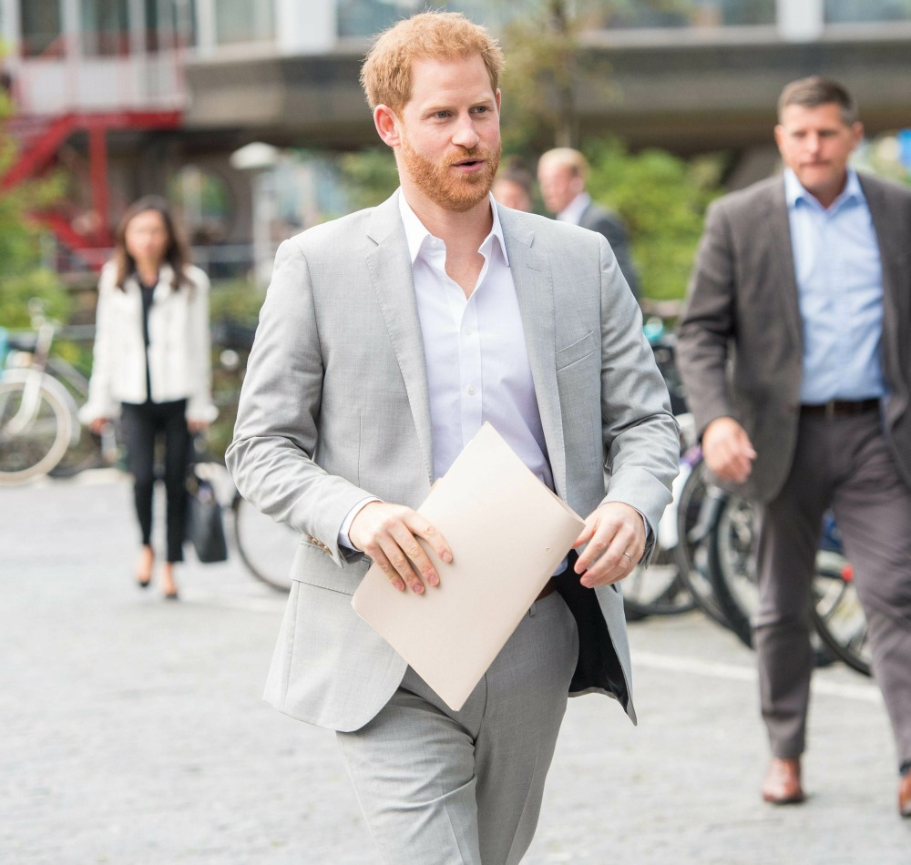 Prince Harry launches new partnership Photo: Albert Nieboer / Netherlands OUT / Point de Vue OUT