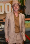 Brad Pitt looks extra suave in all-beige