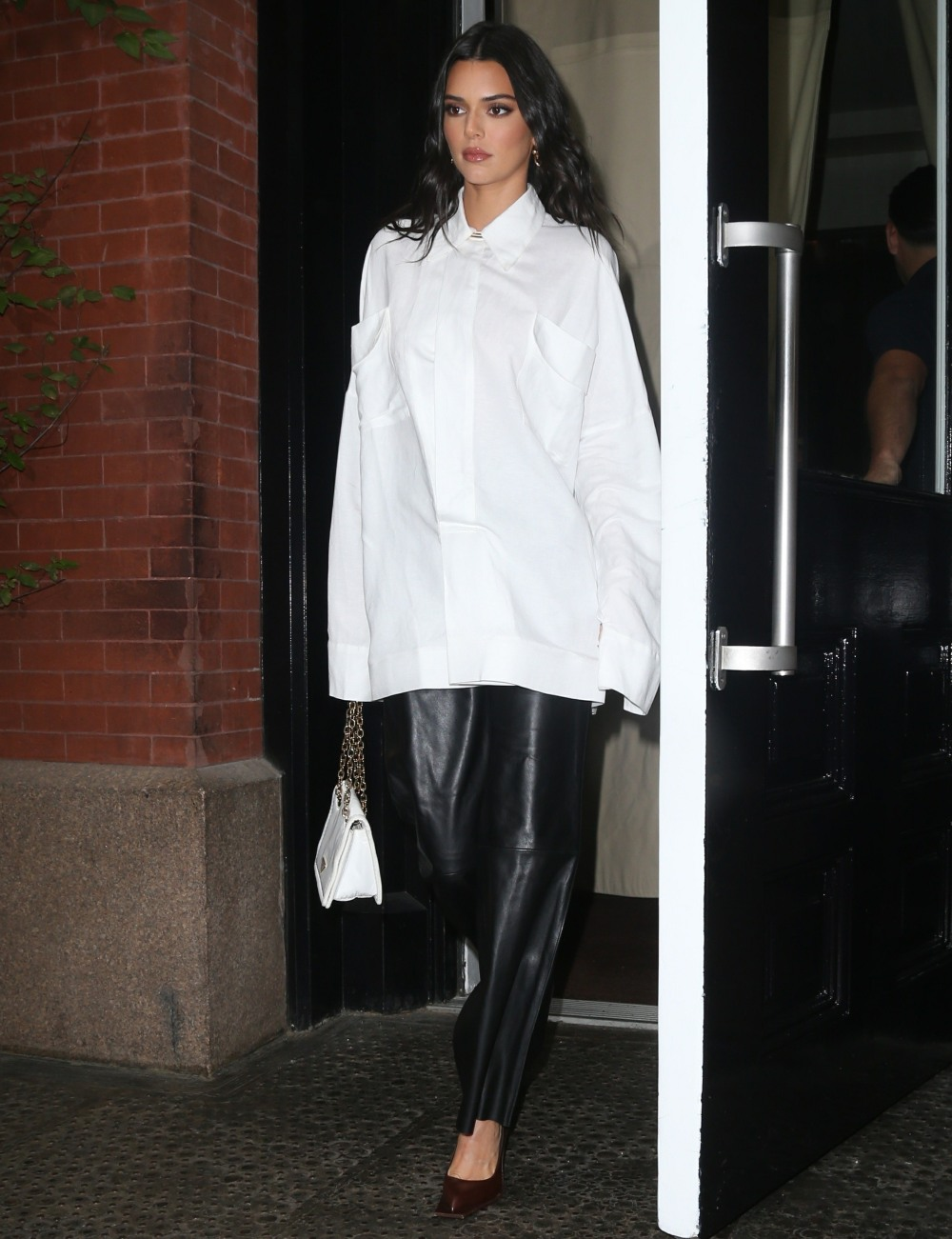 Kendall Jenner heads to 'The Tonight Show with Jimmy Fallon' in NYC