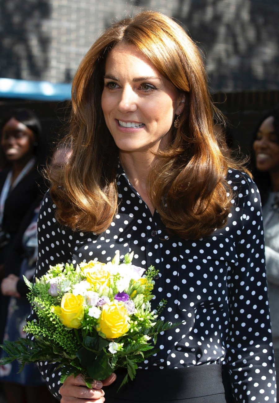 The Duchess of Cambridge visits Sunshine House