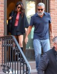 George and Amal Clooney step out to celebrate huge milestone!