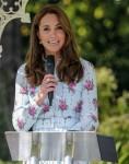 Duchess Of Cambridge visits  RHS Wisley