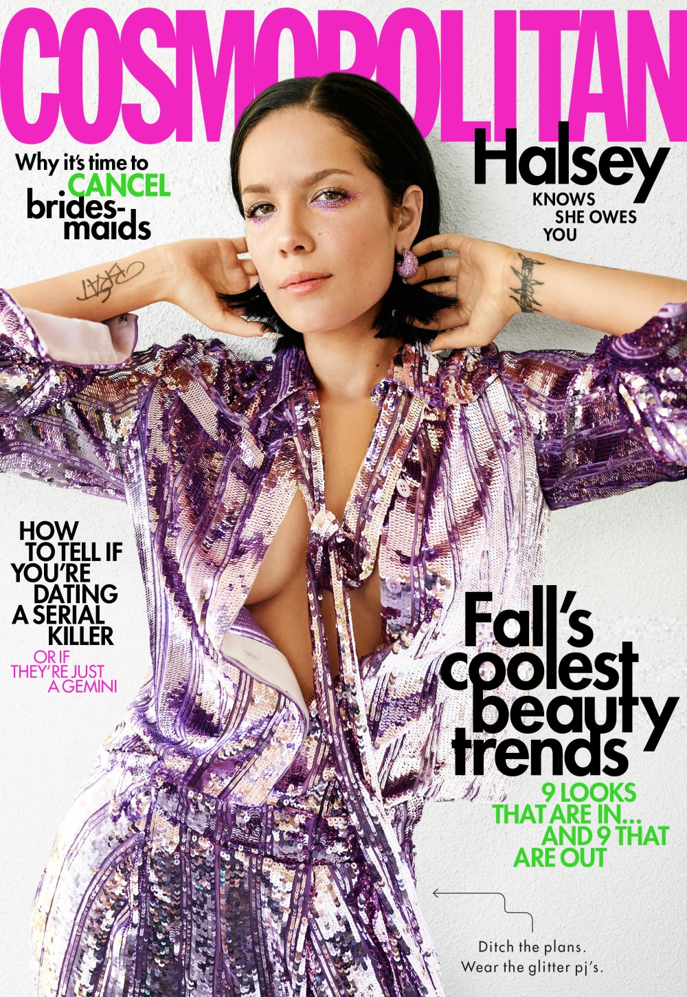 Halsey October 2019 Cover
