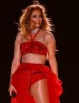 Jennifer Lopez performs in Egypt