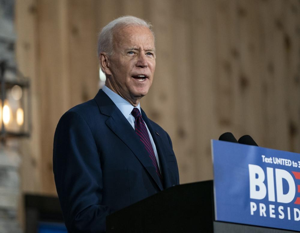 Joe Biden Campaigns in Iowa