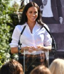 The Duchess of Sussex launches the Smart Works capsule collection of which her Royal Hiqhness is a patron.