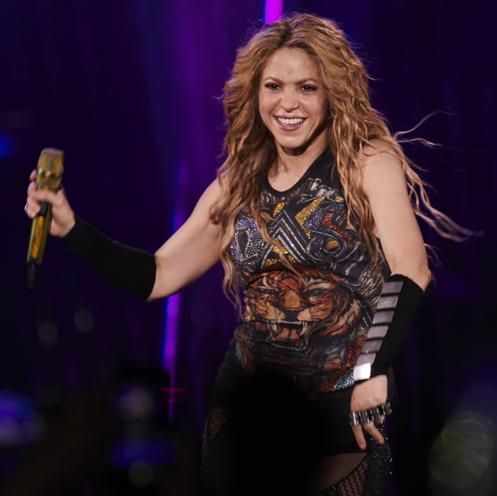 Shakira Performs at WiZink Center in Madrid
