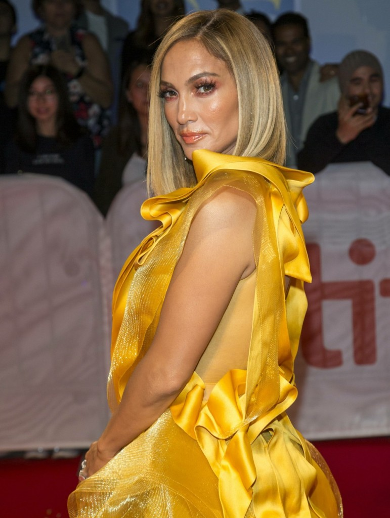 Jennifer Lopez attends the premiere of 'Hustlers' during the 44th Toronto International Film Festival, tiff, at Roy Thomson Hall in Toronto, Canada, on 07 September 2019. | usage worldwide
