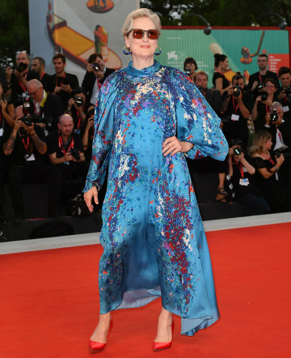 Meryl Streep during the Red carpet of film ' The laundromat ' at the 76th Venice Film Festival, Venice, ITALY-01-09-2019