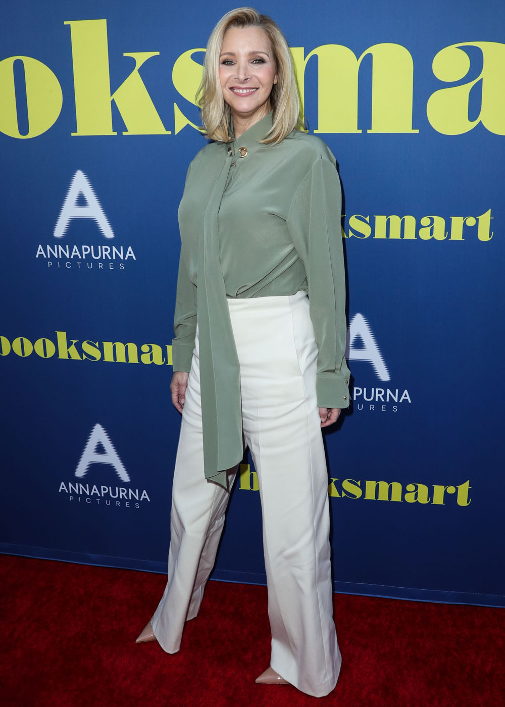 Actress Lisa Kudrow arrives at the Los Angeles Special Screening Of Annapurna Pictures' 'Booksmart' held at the Ace Hotel on May 13, 2019 in Los Angeles, California, United States. (Photo by Xavier Collin/Image Press Agency)