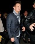 Jeremy Renner Leaves The Opening of Sugar Taco in west Hollywood
