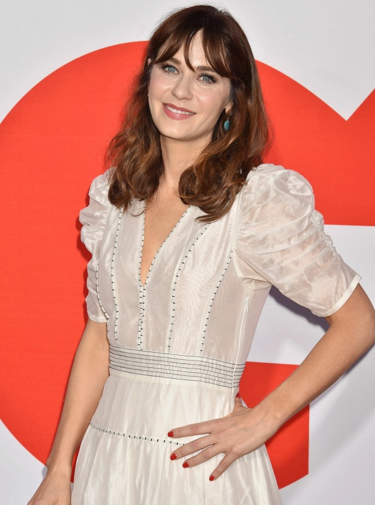 """Zooey Deschanel at the premiere of Universal Pictures' """"Good Boys"""" at Regency Village Theatre"""