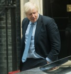British Prime Minister Boris Johnson walks past his car before entering it as he departs for PMQs at Downing Street, London, England, UK on Wednesday 4 September 2019. Picture by Justin Ng/UPPA/Avalon.