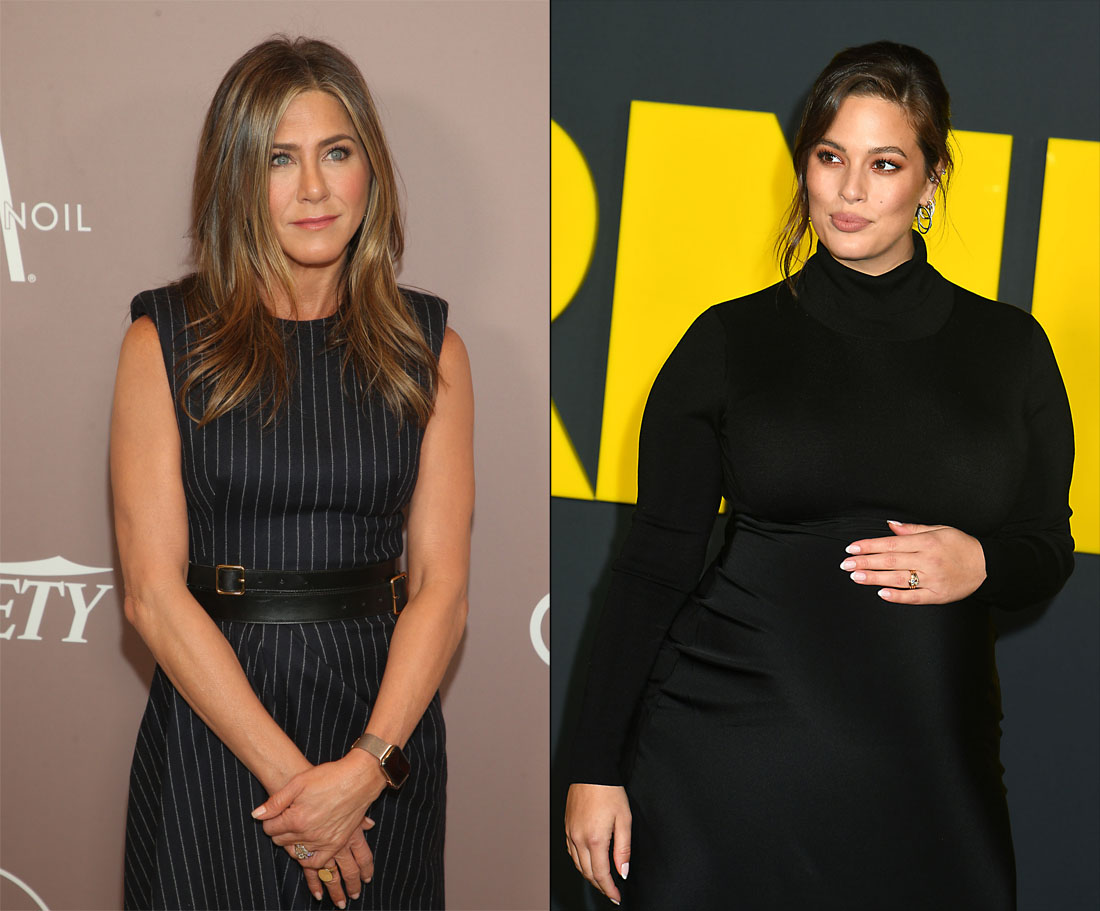 Ashley Graham is so excited that Jennifer Aniston talked to her on Instagram