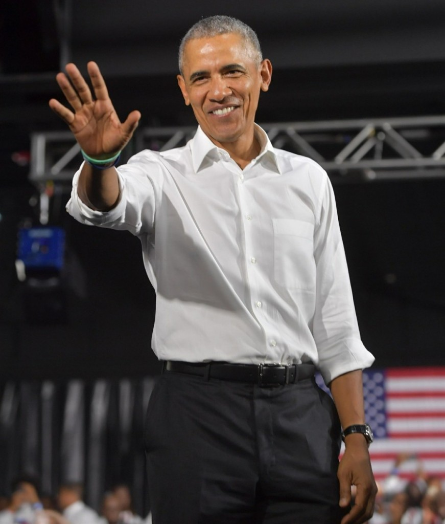 Andrew Gillum Campaigns with Former US President Barack Obama