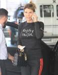 Lori Laughlin drops her car off at valet as she goes shopping