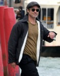 Brad Pitt visits the Biennale while out in Venice