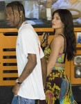 Kylie Jenner and Travis Scott walking in Capri ahead of a dinner date!