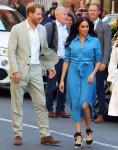 Prince Harry, Duke of Sussex and wife Meghan Markle, Duchess of Sussex pictured Visiting the District Six Museum