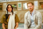 Meghan Markle and Prince Harry visit Auwal Mosque in Cape Town