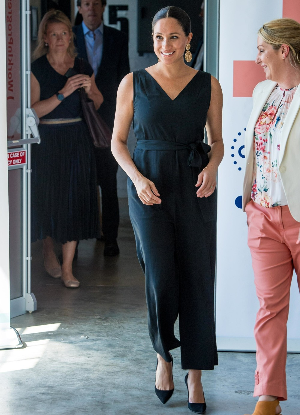 Meghan The Duchess of Sussex visits the Woodstock Exchange