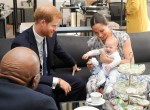 Prince Harry and Meghan Markle meet with archbishop Desmond Tutu
