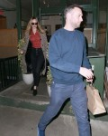 Jennifer Lawrence and Cooke Maroney have a quiet dinner for two at King Italian restaurant