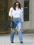 Katie Holmes steps out in Style in New York