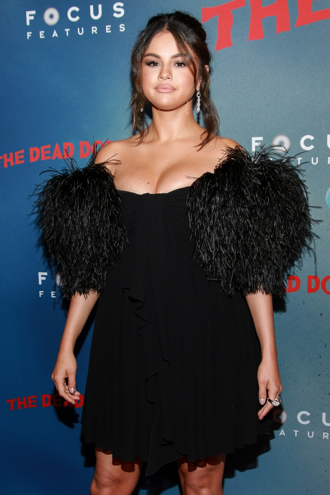 Selena Gomez at arrivals for THE DEAD DO...