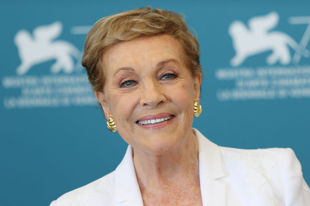 Julie Andrews calls therapy wonderful, 'it saved my life in a way'
