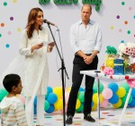 Britain's Prince William and Catherine, Duchess of Cambridge, visit Pakistan