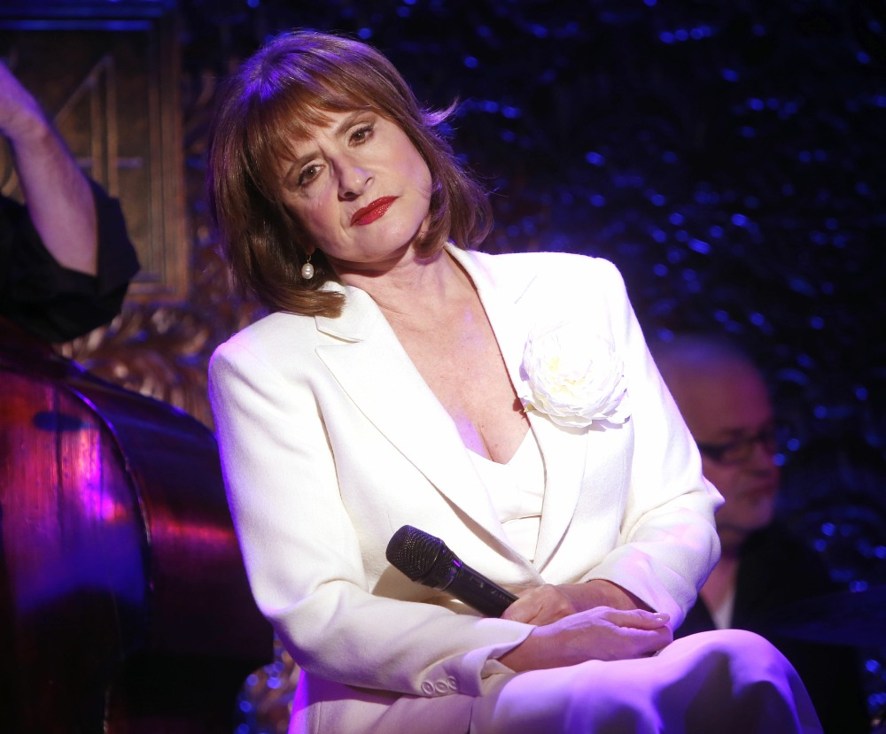 Patti LuPone In Rehearsal for 54 Below Concert