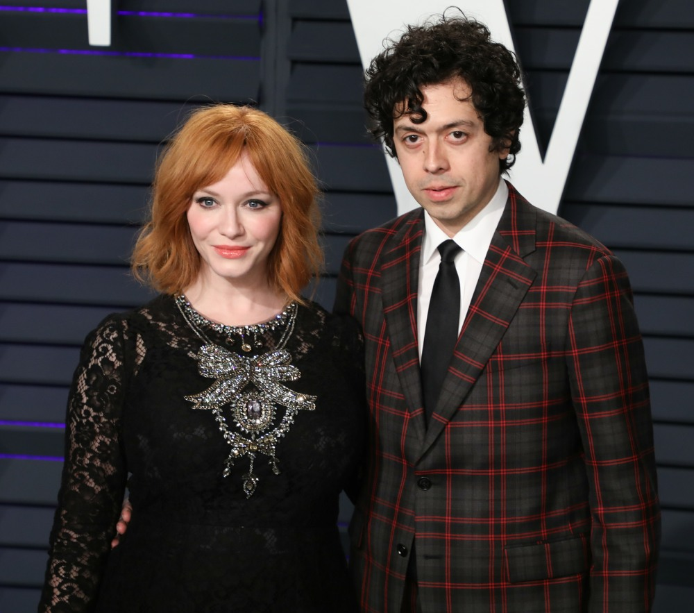 Christina Hendricks & Geoffrey Arend are splitting after 10 years of marriage
