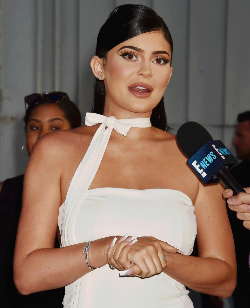 """Kylie Jenner at the Travis Scott: """"Look Mom I Can Fly"""" Los Angeles Premiere at The Barker Hangar"""