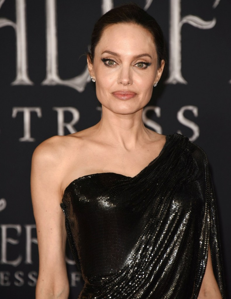 "Angelina Jolie attends the World Premiere Of Disney's ÒMaleficent: Mistress Of Evil"" - Red Carpet at El Capitan Theatre on September 30, 2019 in Los Angeles, California © Jill Johnson/jpistudios.com"