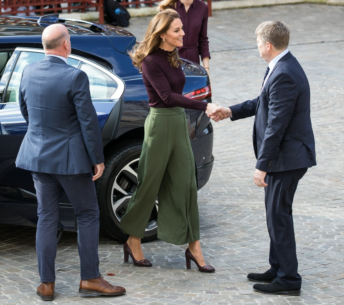 Duchess of Cambridge's visit to the Natural History Museum