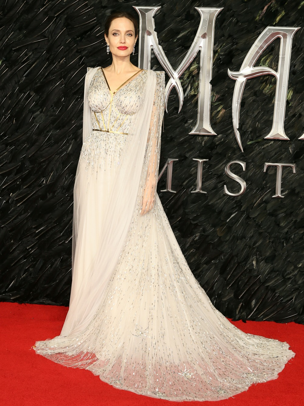 The European Premiere of 'Maleficent: Mistress Of Evil' held at the Odeon IMAX Waterloo - Arrivals