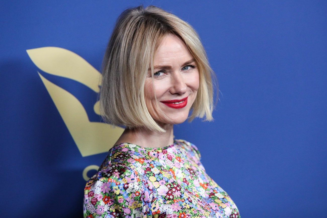 Actress Naomi Watts wearing a dress by The Vampire's Wife arrives at the 2019 Australians In Film Awards held at the InterContinental Los Angeles Century City on October 23, 2019 in Century City, Los Angeles, California, United States.