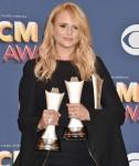 Miranda Lambert nella sala stampa durante la 53a Accademia di Country Music Awards alla MGM Grand Garden Arena