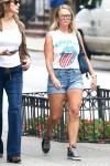 Miranda Lambert steps out for a stroll around New York