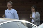 Miley Cyrus and Cody Simpson make a coffee run in Studio City