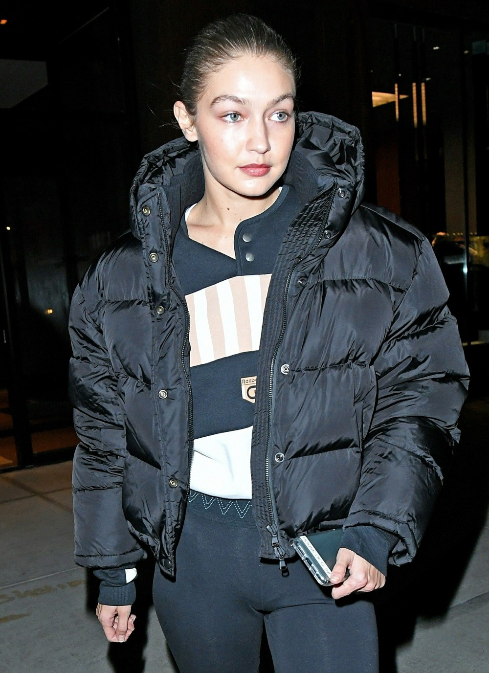 Supermodel Gigi Hadid heads out to the ABC Carpet in New York