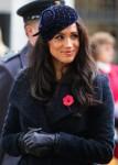 Meghan Duchessa del Sussex e il principe Harry Duke del Sussex nella foto al Field of Remembrance di Londra
