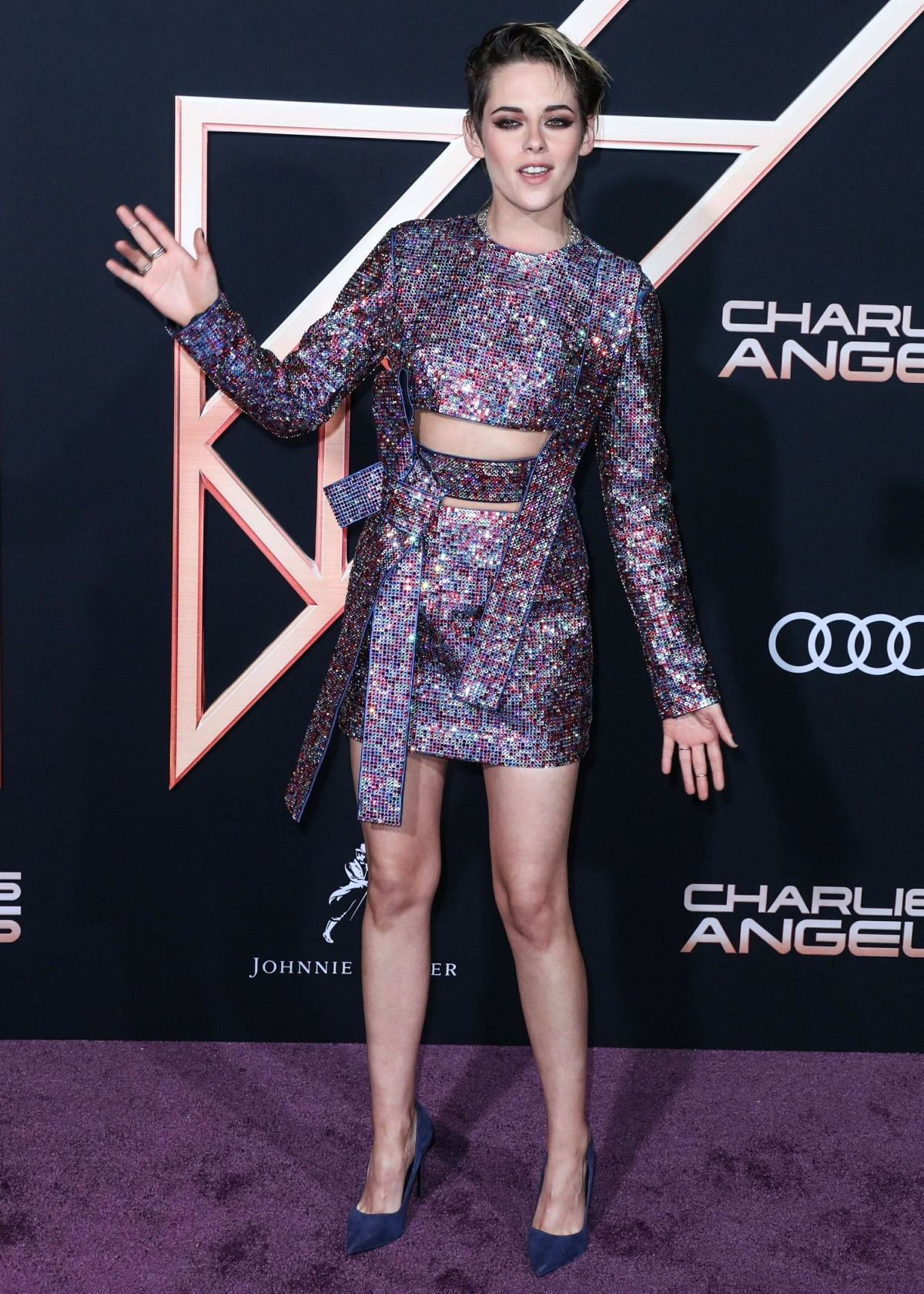 Guests arrive for the Los Angeles premiere of Columbia Pictures' 'Charlie's Angels'