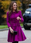 Catherine, Duchess of Cambridge is pictured officially opening The Nook