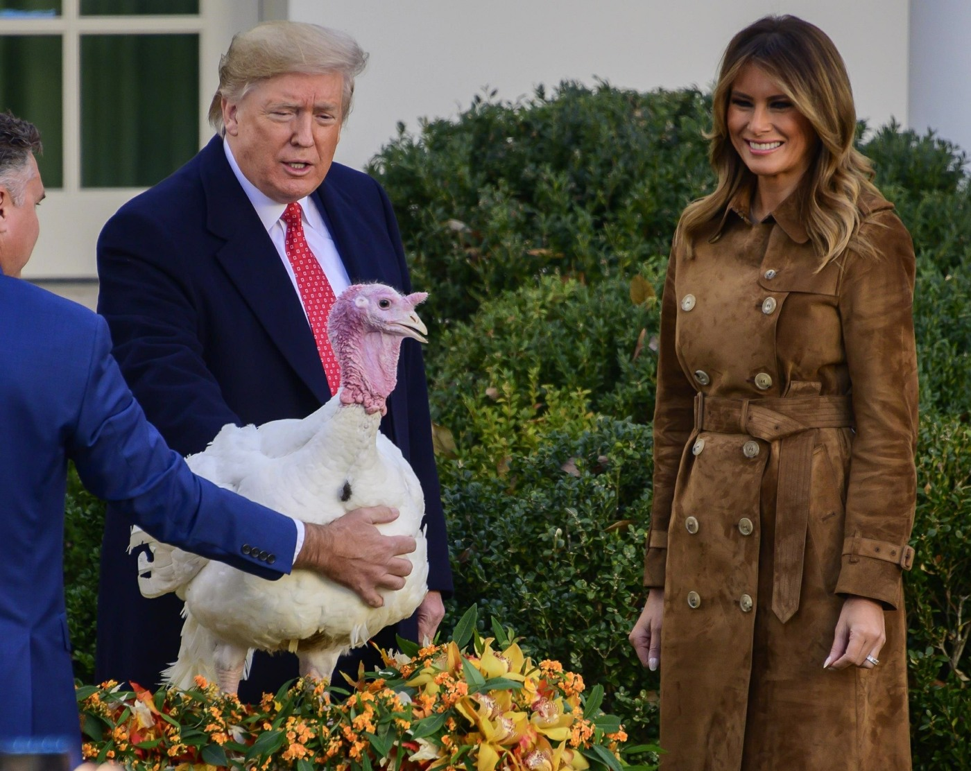 Trumps Present 2019 National Thanksgiving Turkey