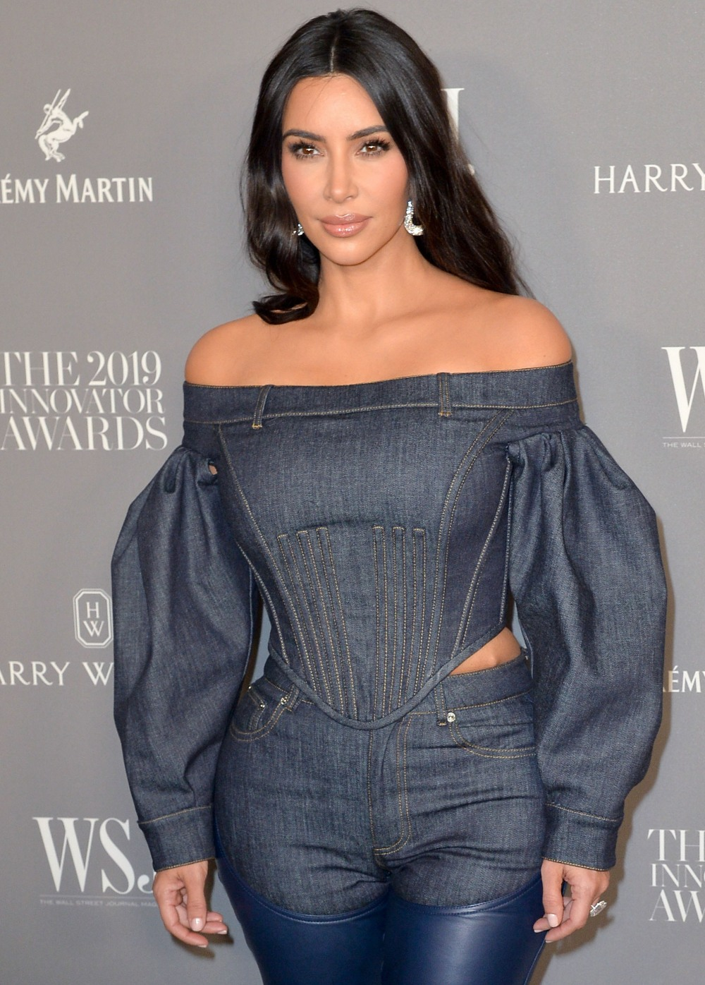 Kim Kardashian West agli arrivi per Wall ...
