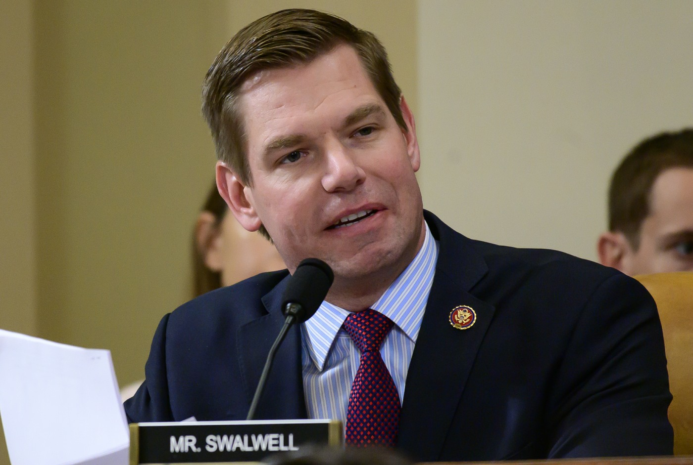 Did Rep. Eric Swalwell rip a big fart on live television?  An investigation.